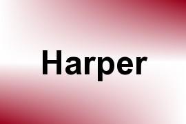 Harper name image