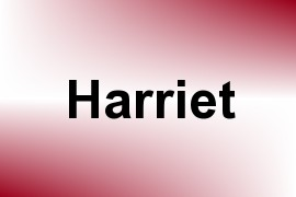 Harriet name image