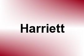 Harriett name image