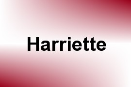 Harriette name image