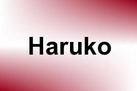Haruko name image