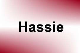 Hassie name image