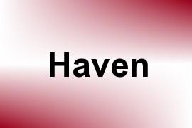Haven name image