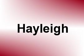 Hayleigh name image
