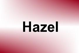 Hazel name image
