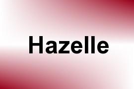 Hazelle name image