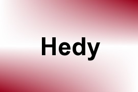 Hedy name image