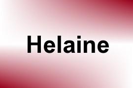 Helaine name image