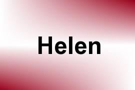 Helen name image