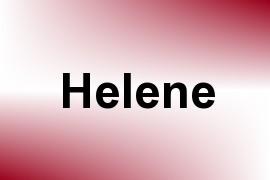 Helene name image