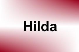Hilda name image