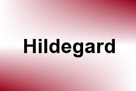 Hildegard name image
