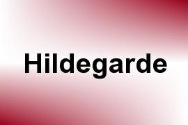 Hildegarde name image