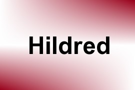 Hildred name image