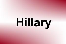 Hillary name image