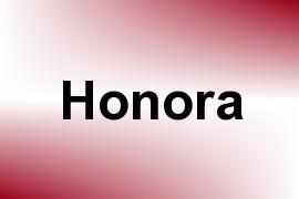 Honora name image