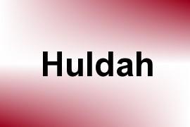 Huldah name image