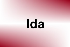 Ida name image