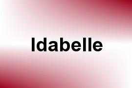 Idabelle name image