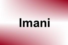 Imani name image