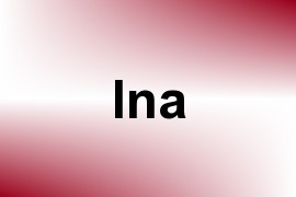 Ina name image