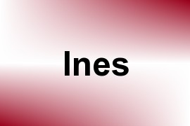 Ines name image