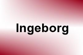 Ingeborg name image