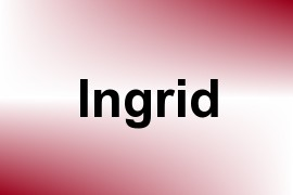 Ingrid name image