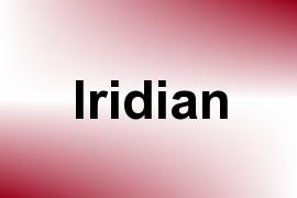 Iridian name image