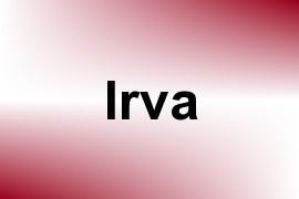 Irva name image