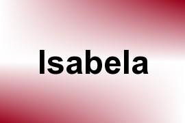 Isabela name image