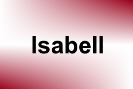 Isabell name image