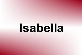 Isabella name image