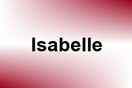 Isabelle name image