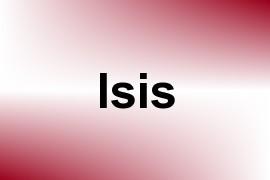 Isis name image