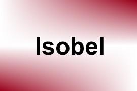 Isobel name image