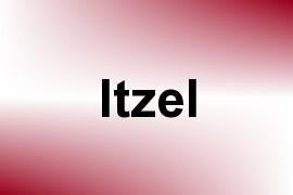 Itzel name image