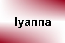 Iyanna name image