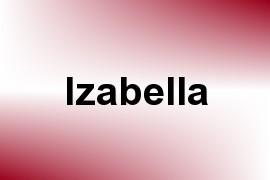 Izabella name image