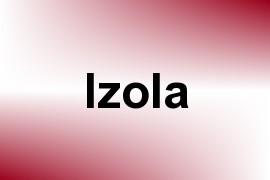 Izola name image