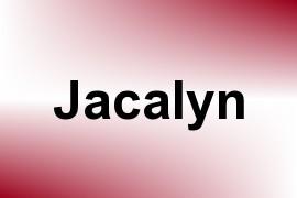 Jacalyn name image