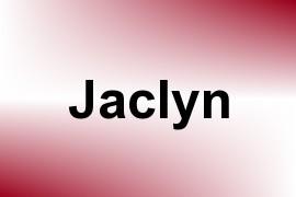 Jaclyn name image