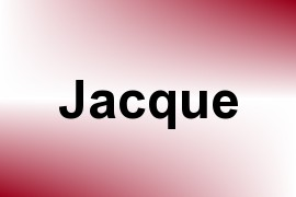 Jacque name image