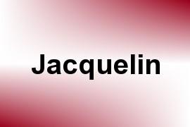 Jacquelin name image