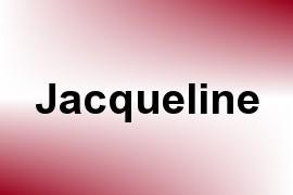 Jacqueline name image