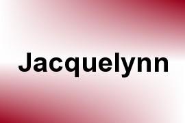 Jacquelynn name image