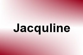 Jacquline name image