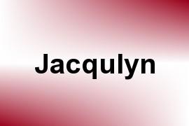 Jacqulyn name image