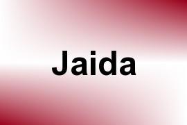 Jaida name image