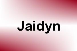 Jaidyn name image